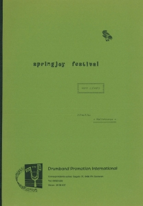 Springjoy Festival, Malletband