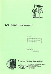 Two English Folkdances, Malletband
