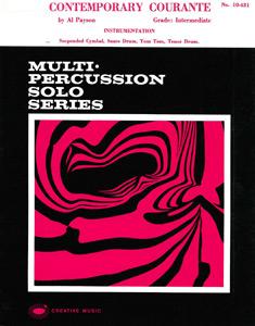 Contemporary Courante (Recital Solo Series)