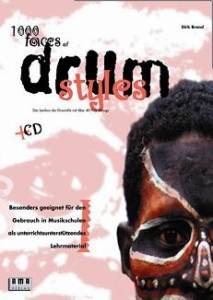 1000 Faces of Drum Styles, incl. cd.