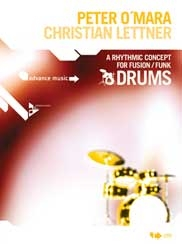 A Rhythmic Concept for Fusion/Funk Drums, incl. 2 cd's.