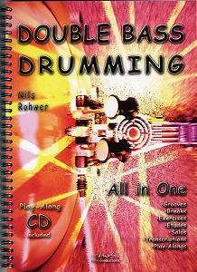 Double Bass Drumming All in One, incl. cd.