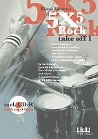 5X5 Rock - Take Off, vol. 1, incl. MP3cd.