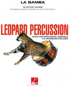 La Bamba, percussion ensemble, incl. cd