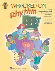 Whacked On Rhythm, incl. cd