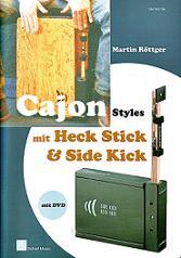 Cajon Styles For Heck Stick & Side Kick, incl. dvd