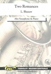 Twee Romances/Deux Romances, Saxophone Alto  & Piano