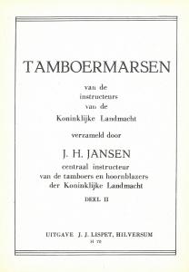 Tamboermarsen Deel II