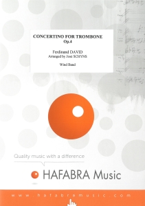 Concertino for Trombone op. 4, Wind Band