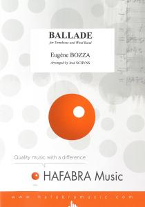Ballade pour Trombone/Ballad for Trombone, Orchestre d'Harmonie
