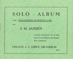 Solo - Album Voor Signaalhoorns (Klaroenen) In Bes