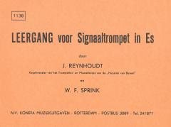 Leergang Voor Signaaltrompet In Es