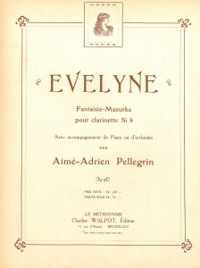 Evelyne, Bb Clarinette & Piano