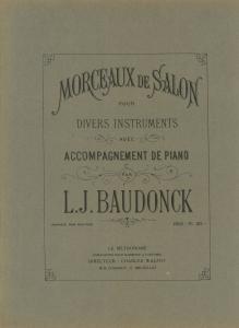 Morceaux De Salon, Duo, Trompet en Bariton/Euphonium & Piano