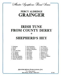 Irish Tune from County Derry/Sheperd's Hey, Set for Military Band