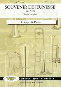 Souvenir De Jeunesse (Air Varié), Trumpet & Piano