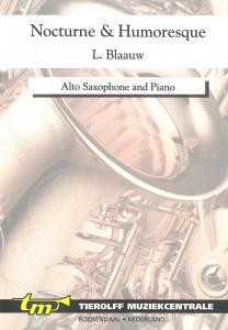 Nocturne and Humoresque, Saxophone Alto  & piano