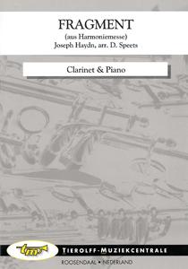 Extrait de l'Harmonie-Messe, Clarinette & Piano