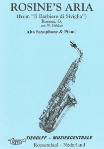 Rosine's Aria, Saxophone Alto & Piano