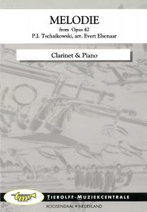 Mélodie - de Opus 42, Clarinette & Piano