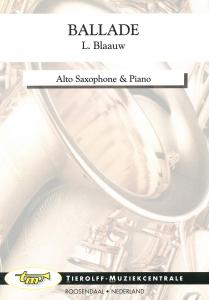 Ballade, Saxophone Alto  & Piano