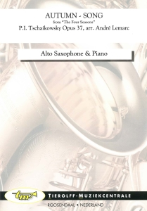 Herfstlied/Chanson d'Automne, Saxophone Alto  & Piano