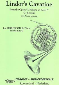 Lindor's Cavatine, Horn & Piano