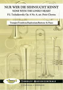 None With The Lonely Heart, Trumpet/Trombone/Euphonium/Baritone & Piano