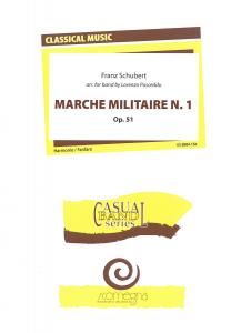 Marche Militaire opus 51 nr.1, Harmonie/Fanfare
