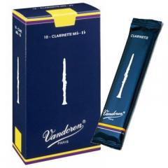 10 Vandoren anches de clarinette Mib Traditionnel nr.3½