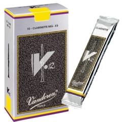10 Vandoren anches de clarinette Mib V12 nr.3½