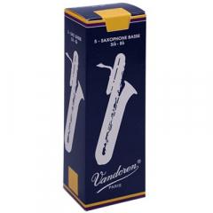 5 Vandoren anches de saxophone basse Traditionnel nr.3