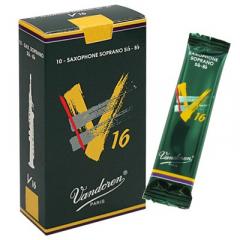 10 Vandoren soprano saxophone reeds V16nr.3½