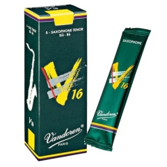 5 Vandoren tenor saxophone reeds V16nr.2½