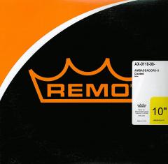 """Remo 10"""" Ambassador X Coated AX-0110-00"""