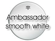 """Remo 12"""" Ambassador glad wit tom/ snarevel BA-0212-00"""