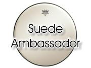"""Remo 8"""" Suede Ambassador tomvel BA-0808-00"""