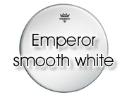 "Remo 22"" Emperor glad wit bassdrumvel BB-1222-00"