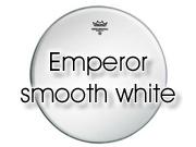 "Remo 26"" Emperor glad wit bassdrumvel BB-1226-00"
