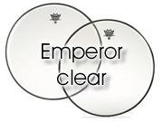 """Remo 13"""" Emperor transparant tom/ snarevel BE-0313-00"""