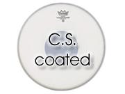 """Remo 13"""" CS ruw wit snaredrumvel met zwarte dot aan onderzijde CS-0113-10"""