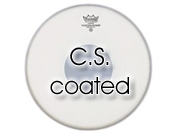 """Remo 14"""" CS ruw wit snaredrumvel met transparante dot aan onderzijde CS-0114-20"""