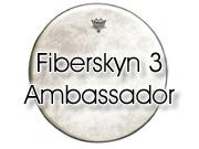 "Remo 10"" Fiberskyn 3 Ambassador slagvel voor tom/snare FA-0510-00"