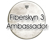 "Remo 12"" Fiberskyn 3 Ambassador slagvel voor tom/snare FA-0512-00"