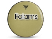 "Remo 14"" Falams Whitemax snaredrumvel KS-2614-00"