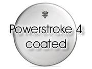"Remo 18"" Powerstroke 4 ruw wit bassdrum/floortomvel - dubbellaags P4-0118-BP"
