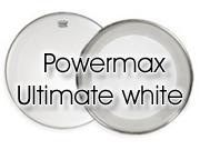 "Remo 14"" Powermax Ultra White marching bassdrumvel PM-1018-MP"