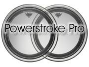 "Remo 22"" Powerstroke Pro Ebony bassdrumvel PR-1422-00"