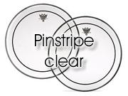 "Remo 18"" Pinstripe transparant bassdrumvel PS-1318-00"