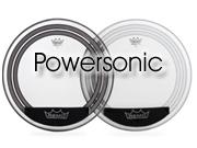 "Remo 18"" Powersonic transparant bassdrumvel met interne dempring PW-1318-00"